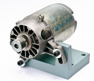 Old electric motor Royalty Free Stock Image