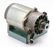 Old electric motor Stock Images