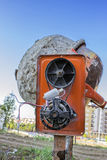 Old electric motor 2 Royalty Free Stock Image