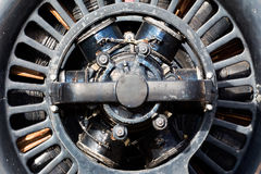 Old electric motor in the sunlight Stock Image