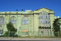 Old electric power station Red October Royalty Free Stock Photography