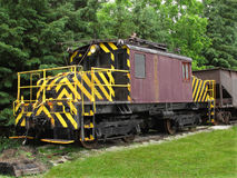 Old electric railway locomotive Royalty Free Stock Photo