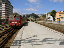 Old electric train. Stock Photography