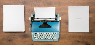 Old Electric Typewriter On Used By Author For Book Stock Photography