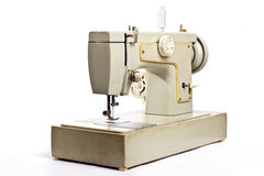 Old electrical sewing machine Royalty Free Stock Images