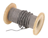 Old Electrical Solder Spool Stock Image
