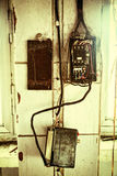 Old electrical wiring Stock Photos