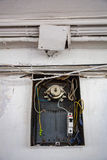 Old electrical wiring Stock Photography