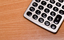 Old electronic calculator Stock Image