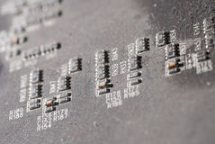 Old electronic circuit board Royalty Free Stock Images