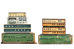 Old electronic control Royalty Free Stock Images