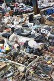 Market in chisinau Stock Photography