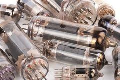Old electronic radio tube Royalty Free Stock Photo
