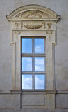 Old, elegant window from outside Stock Images