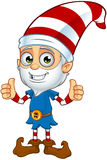 Old Elf Character Royalty Free Stock Photo