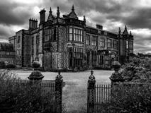 Old Elizabethan style Victorian house royalty free stock photos