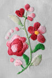 Old embroidery Stock Photo