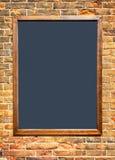 Old empty black board Stock Image