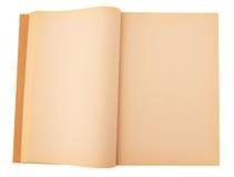 Old empty book Stock Photos