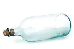 Old empty bottle Stock Photos