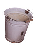 Old empty bucket Royalty Free Stock Photography