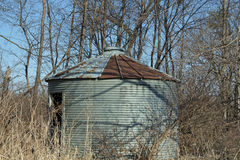 An Old Empty Corn Crib Stock Photography