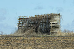 An Old Empty Corn Crib Royalty Free Stock Image