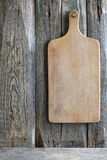 Old empty cutting board Royalty Free Stock Photo