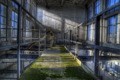 Old empty factory Royalty Free Stock Photography