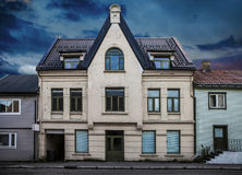 Old empty house Royalty Free Stock Photos
