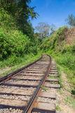 Old empty railway. Stock Photo