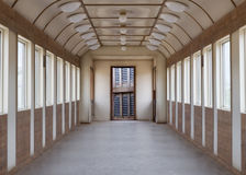 Old empty train carriage Stock Image