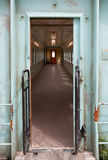 Old empty train carriage Royalty Free Stock Photo