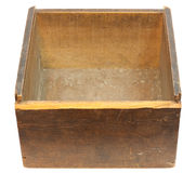 Old Empty Wooden Box Royalty Free Stock Images