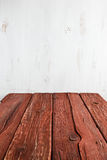 Old empty wooden table Stock Photos