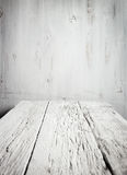 Old empty wooden table Royalty Free Stock Images