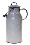Old enamel milk churn Royalty Free Stock Photos
