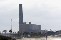 The Old Encina Powerplant North Stock Images