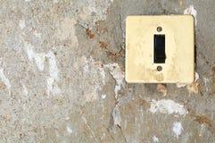 Old energy light switcher Stock Photo
