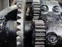 The old engine Stock Photography