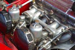 Old engine. Car engine of a vintage car Stock Image
