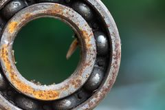 Old engine car part. Rusty iron surface. The rust on steel Texture. royalty free stock images