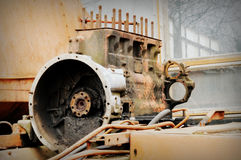 Old engine Royalty Free Stock Photography