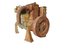 Old engine Royalty Free Stock Photos
