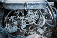 Old engine spare part in old place Royalty Free Stock Photography