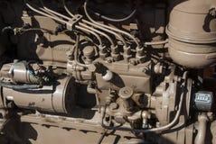 Old engine. Tractor rural. Salamanca,Spain, Europe Stock Photo