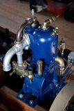 Old engines. The engines of old motorboat Royalty Free Stock Image