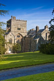 Old english abbey building Royalty Free Stock Photos