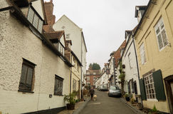 Old English Architecture on Cartway, Bridgnorth Royalty Free Stock Photo