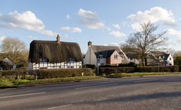 Old English Buildings Royalty Free Stock Images